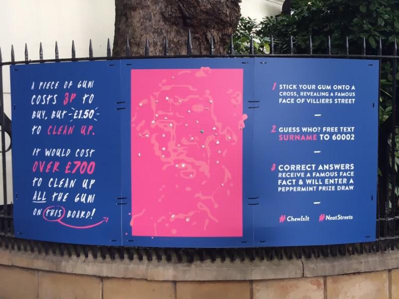 لوحات العلكة في لندن