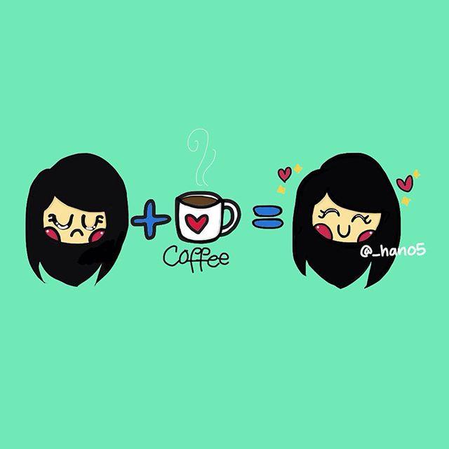 رسم قهوة الصباح