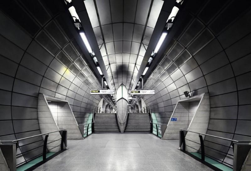 تصميم جميل مترو أنفاق