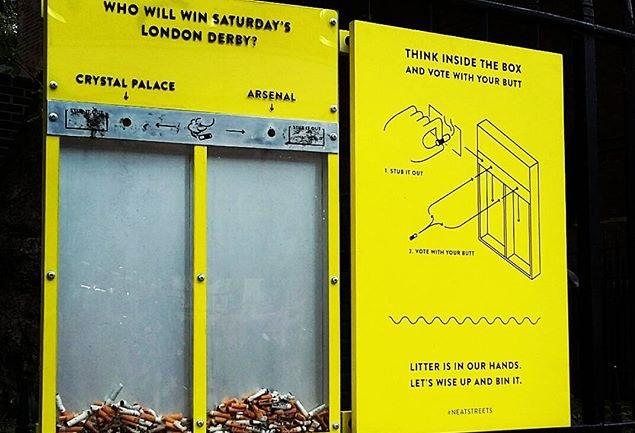 فكرة للتخلص من النفايات