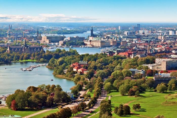 مدينة ستوكهولم السويد