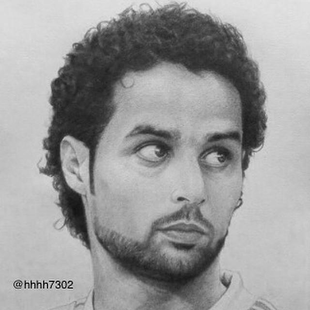 رسم ياسر القحطاني