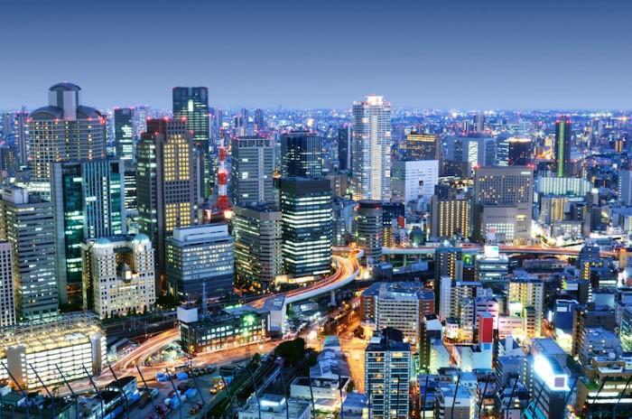 مدينة أوساكا اليابان