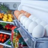 حفظ البيض بالثلاجة