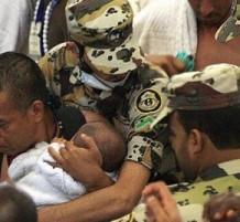 saudi securty in elhajj