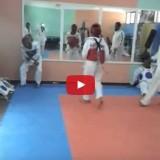 فيديو تيكواندو