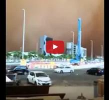 فيديو عاصفة رملية