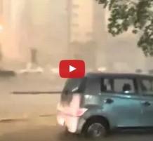 فيديو عواصف مكة