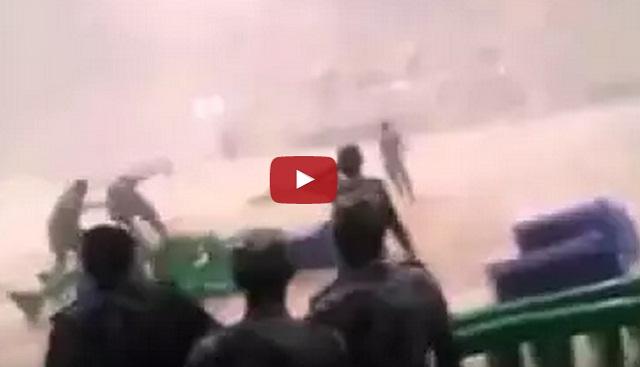 فيديو الدفاع المدني