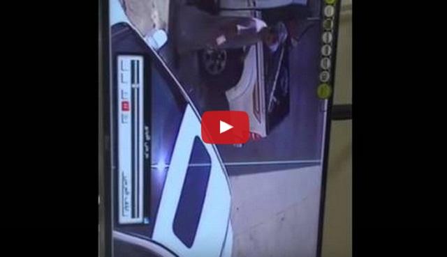 فيديو سرقة سيارة