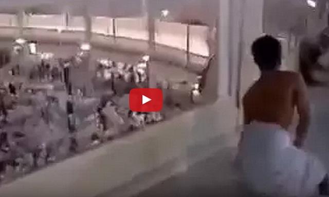فيديو حاج يطوف