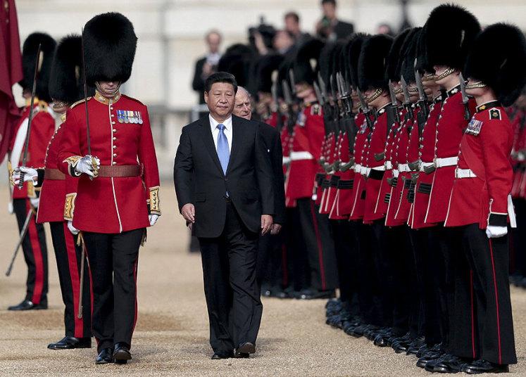 استقبال الرئيس الصيني