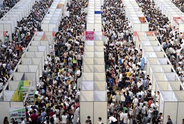الازدحام في الصين