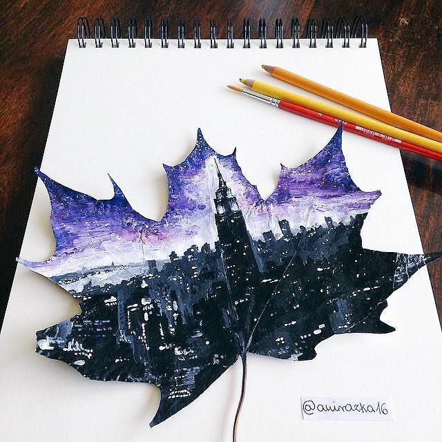 الرسم على الشجر
