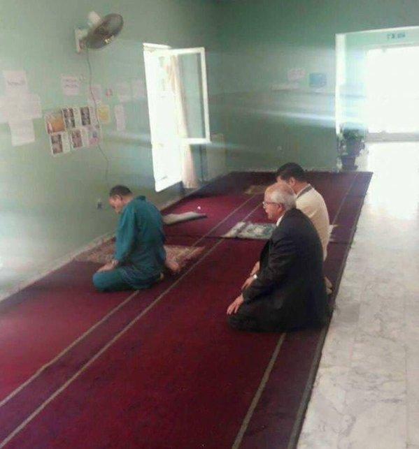 الصلاة بجامعة أردنية