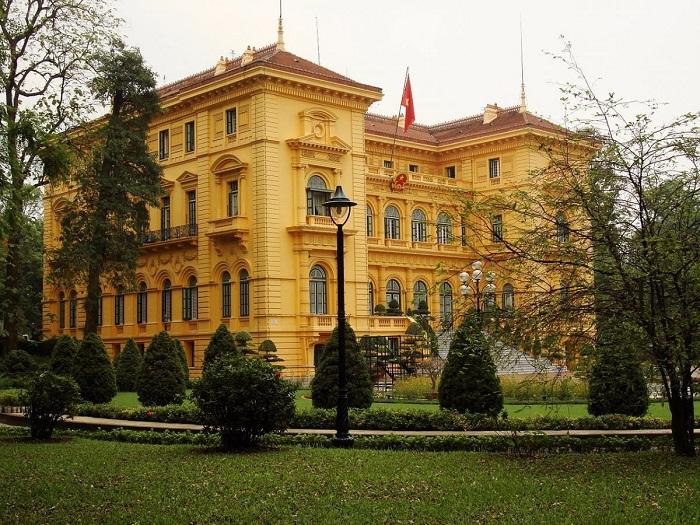 القصر الرئاسي في هانوي