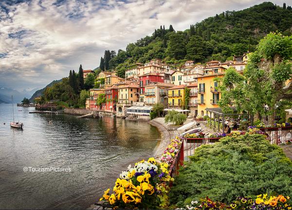بحيرة كومو الإيطالية