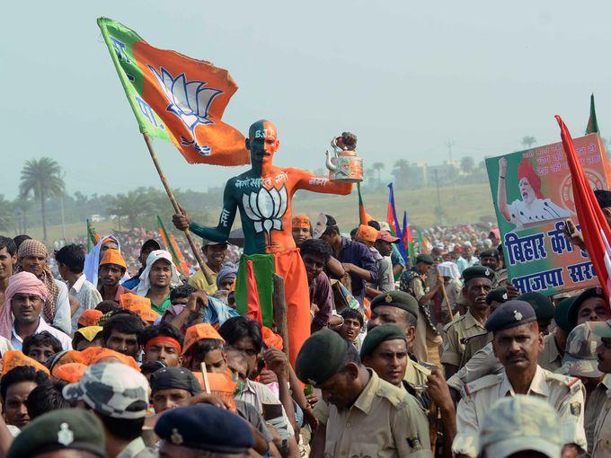 تجمع انتخابي بالهند