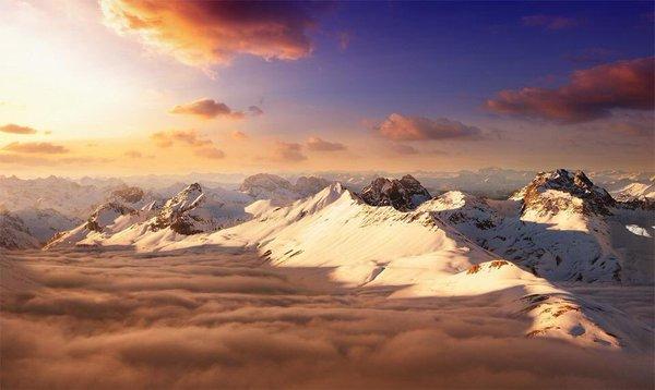 جبال الألب السويسرية