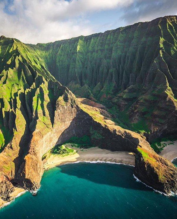 شاطئ في هاواي