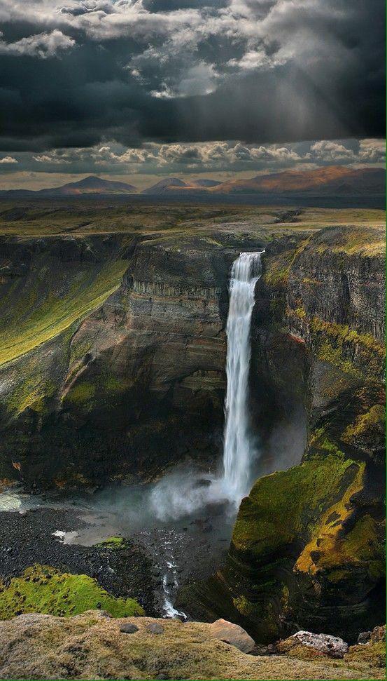 طبيعة آيسلندا الساحرة