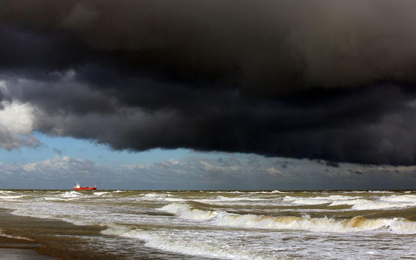 عاصفة في انجلترا