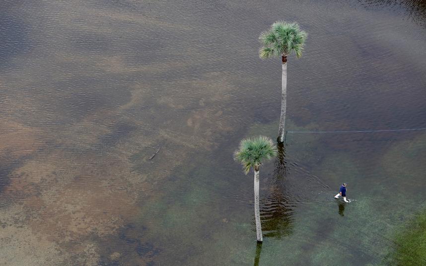 فيضانات بكارولينا الجنوبية