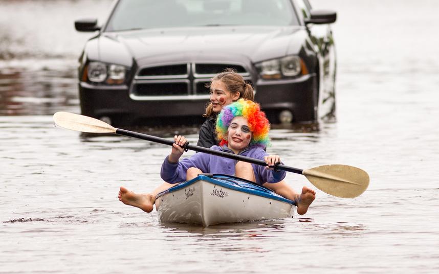 فيضانات بولاية كارولينا