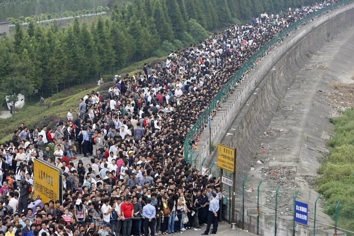 كثافة سكانية