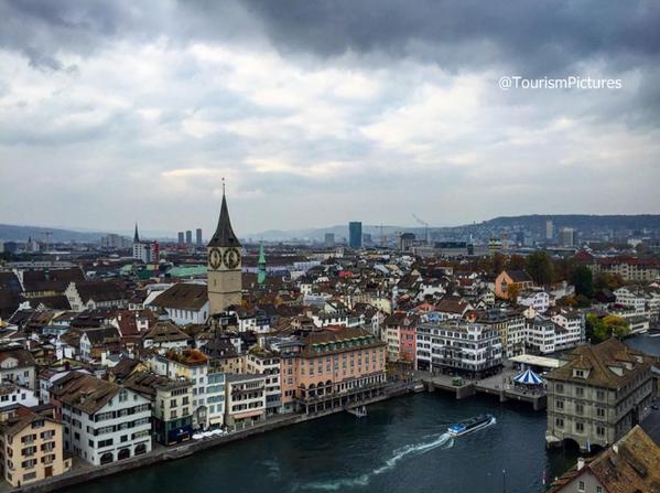 مدينة زيورخ بسويسرا