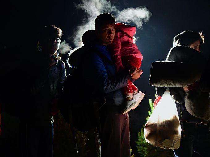 مهاجرين إلى المجر