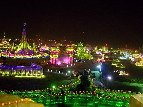 مهرجان هاربن بالصين