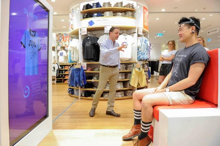 تقنية حديثة تقراءة عقلك لشراء الملابس