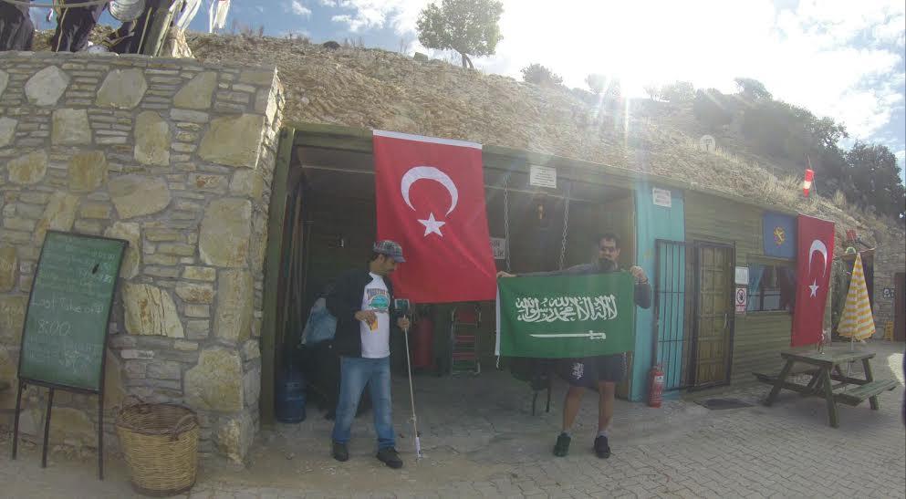 طيار رياضي سعودي تركيا
