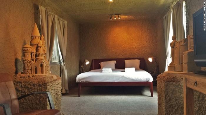 فندق فاخر مصنوع من الطين
