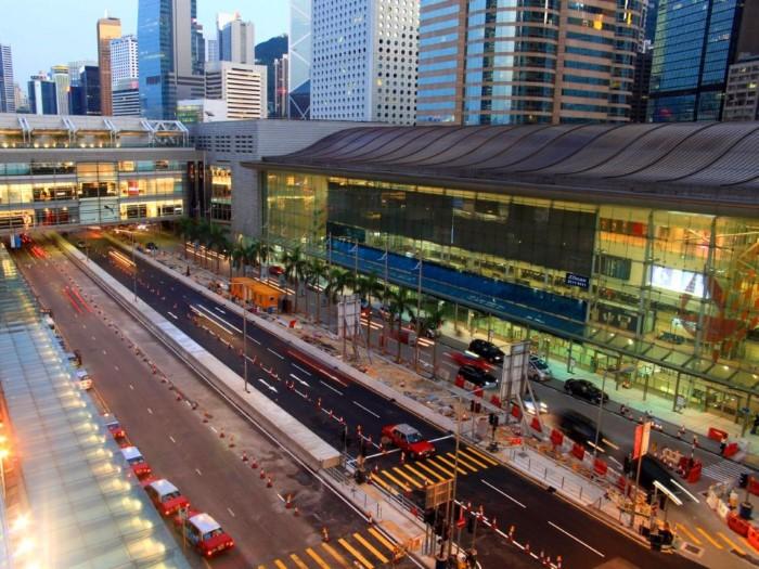 البنية التحتية هونغ كونغ