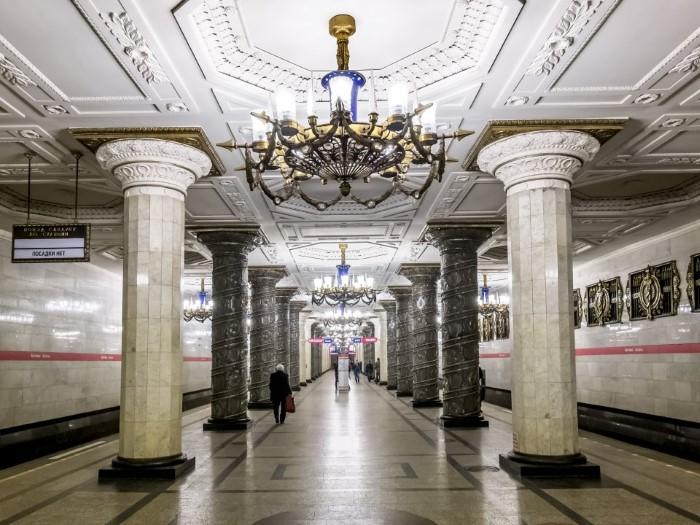 محطة مترو رائعة