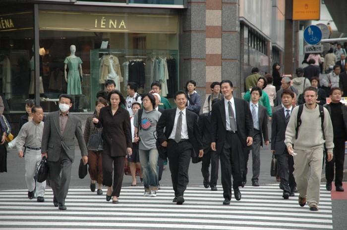 متوسط الأعمار في اليابان