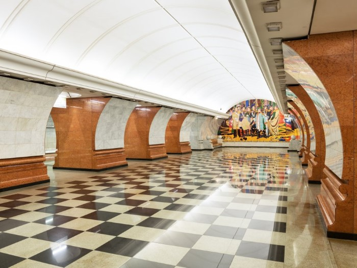 محطة بارك بوديبي في موسكو