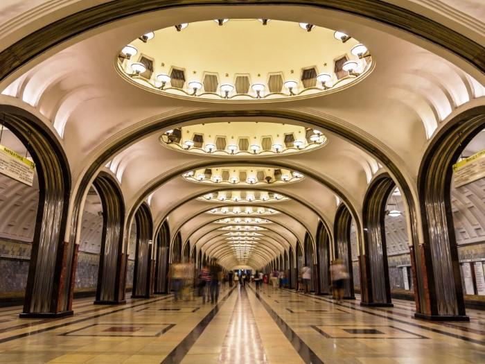 محطة مترو ماياكوفسكايا