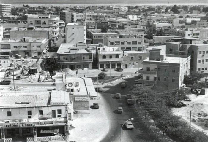شوارع الامارات قديما
