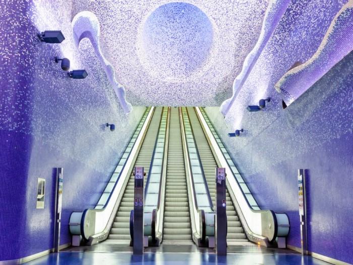 أروع محطات المترو في العالم