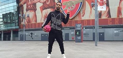 خالد الخالدي يعرض أجمل مهارات كرة القدم