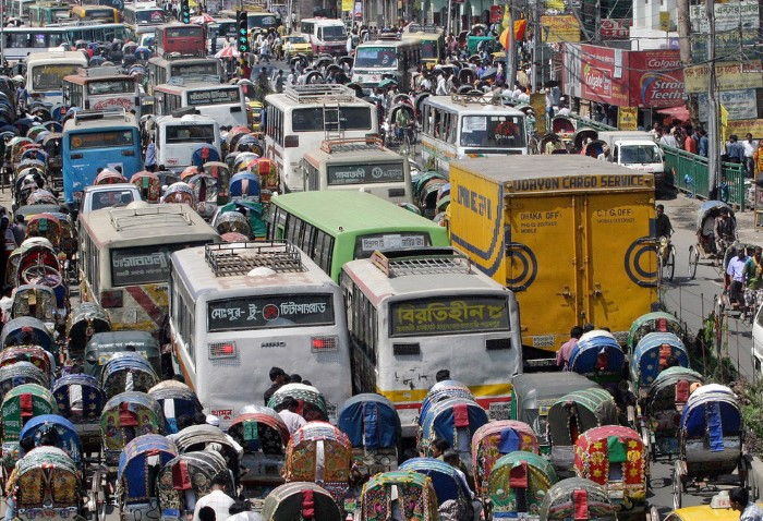 ازدحام المرور في بنغلادش