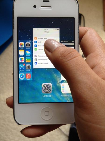 اغلاق التطبيقات في الايفون