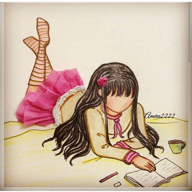 رسم فساتين بنات