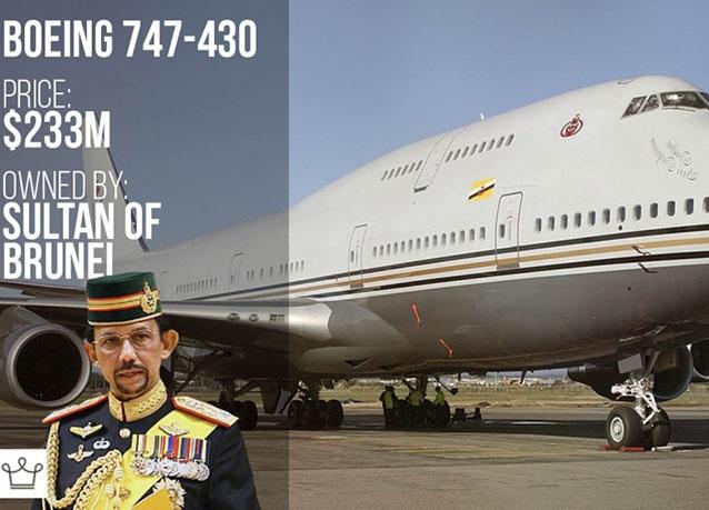 طائرة سلطان بروناي