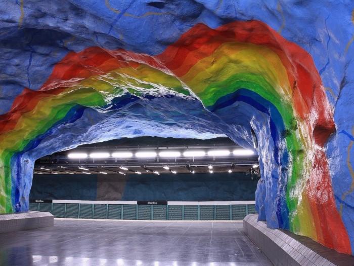 مترو أنفاق في ستوكهولم