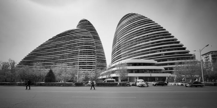 ناطحة سحاب زاها حديد في بكين