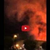 فيديو حريق